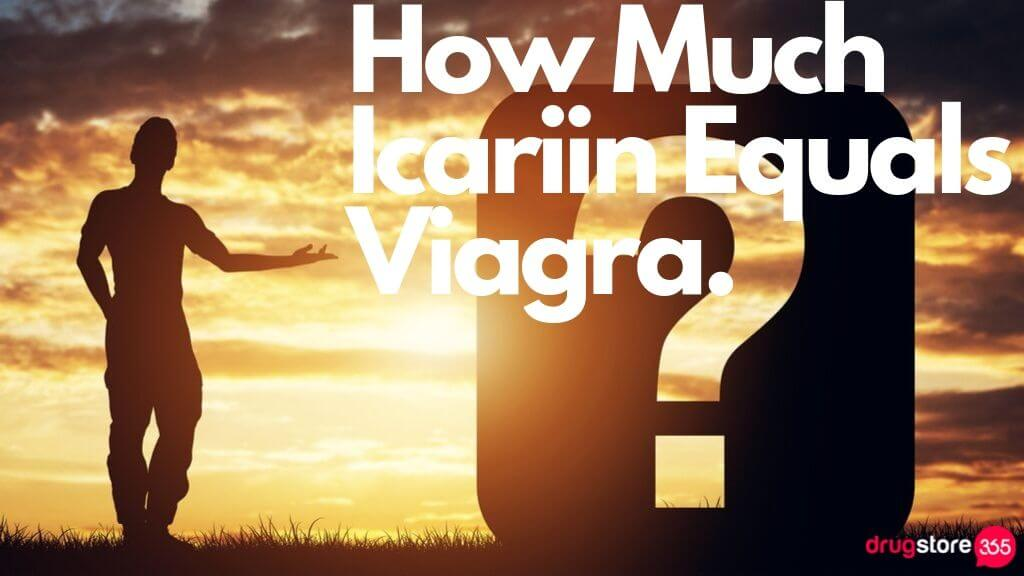 How Much Icariin Equals Viagra