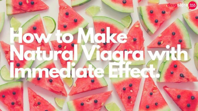 How to Make Natural Viagra with Immediate Effect