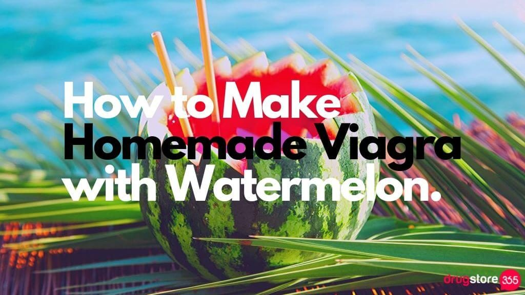How to Make Homemade Viagra with Watermelon